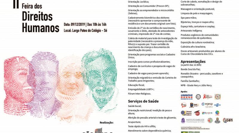 IMESC participa da Feira dos Direitos Humanos